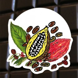 Brut de cacao au café