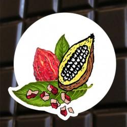 Brut de cacao au fèves de cacao