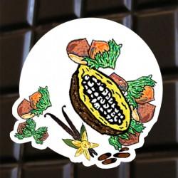 Chocolat noir aux noisettes