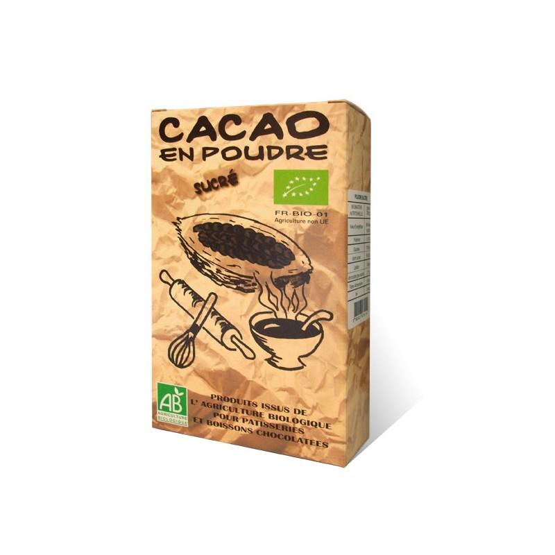 poudre de cacao sucr au chocolat du clos de l 39 arche. Black Bedroom Furniture Sets. Home Design Ideas