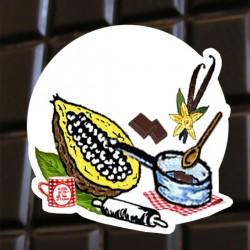Chocolat noir l' Europe