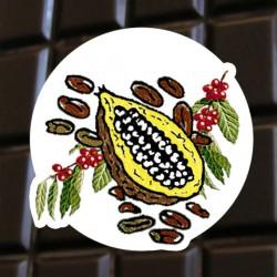 Chocolat noir café