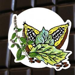 Chocolat noir menthe poivrée