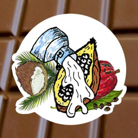 Chocolat au lait Noix de coco