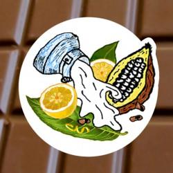 Chocolat au lait Citron