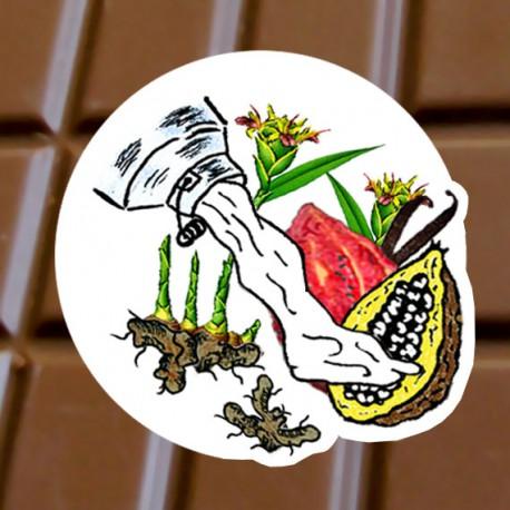 Chocolat au lait Gingembre