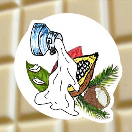 Chocolat blanc Noicx de coco