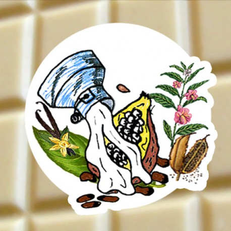 Chocolat blanc Sésame