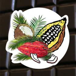 Brut de cacao noix de coco