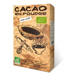 Poudre de cacao non sucré